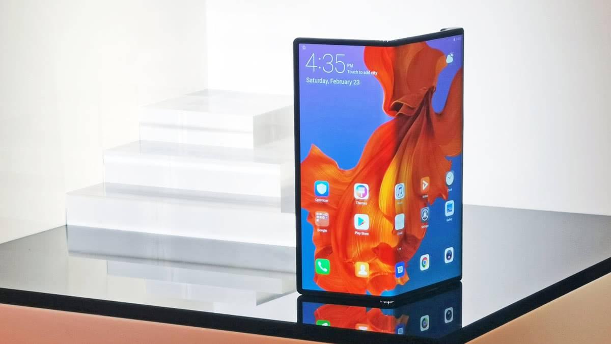 Huawei Mate X 5G фото