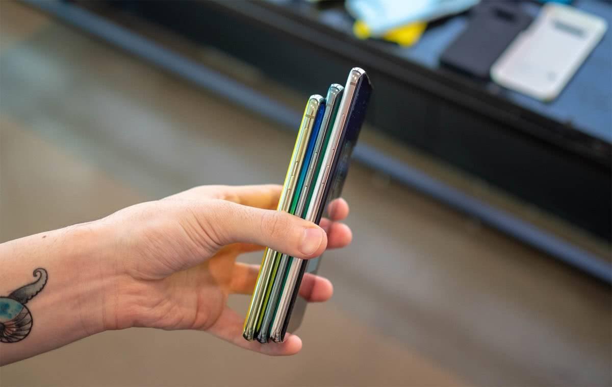 Модели Samsung Galaxy S10
