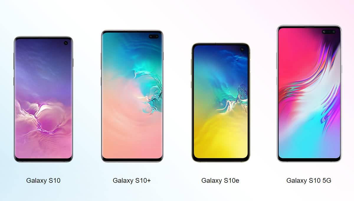 Все модели Samsung Galaxy S10