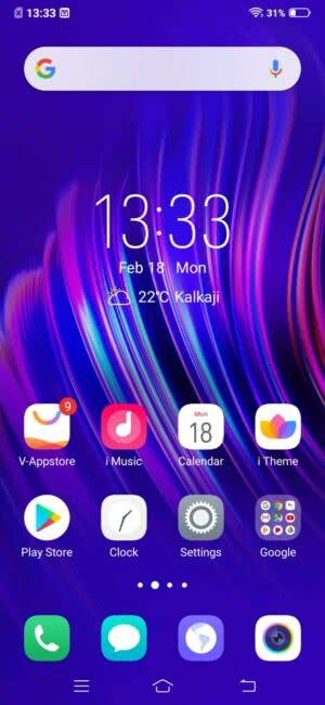Android на Vivo V15 Pro