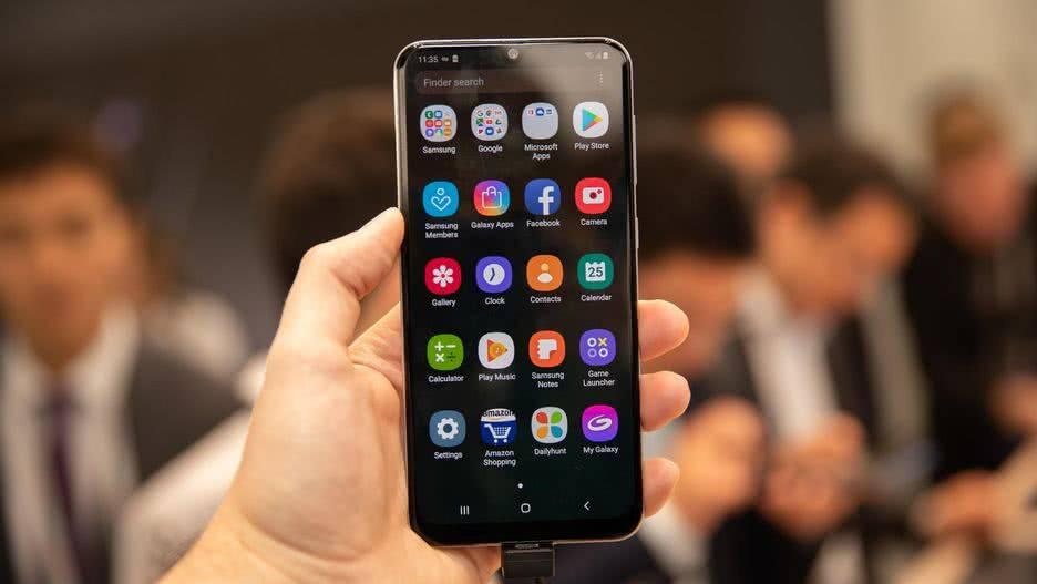 Android на Samsung Galaxy A30