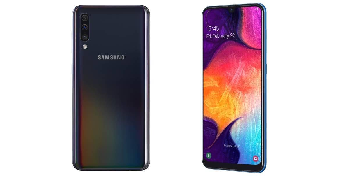 Samsung Galaxy A50 фото