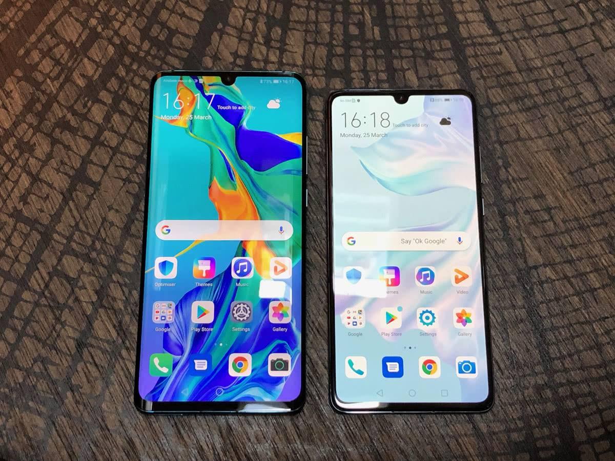 Huawei P30 и P30 Pro в сравнении