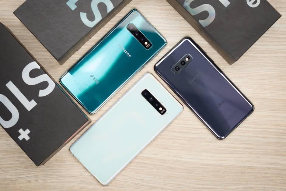 Камерофоны Samsung Galaxy S10 и S10+