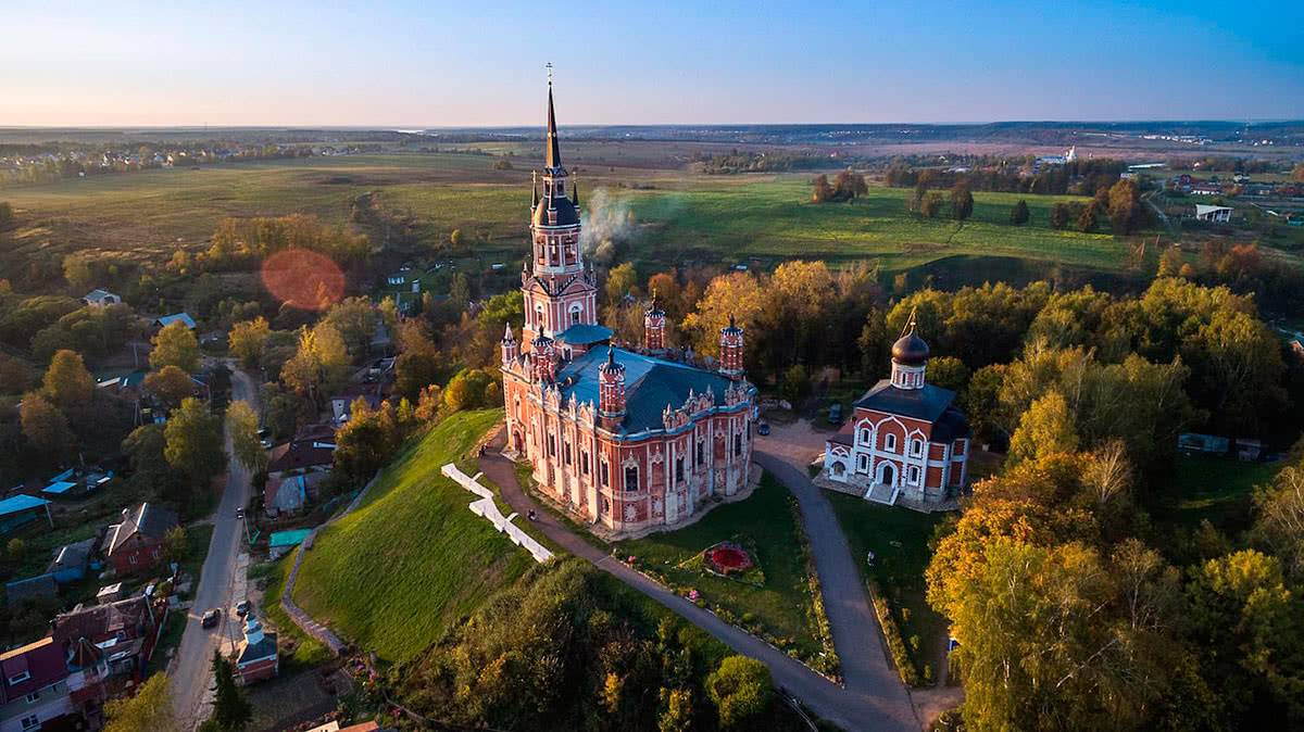Пример фото с DJI Phantom 3 Professional/Advanced