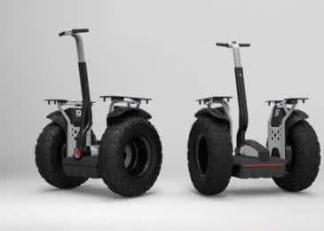 Гироскутер Segway X2 – надежный транспорт для езды по бездорожью
