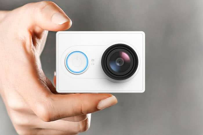 Xiaomi yi action camera travel edition