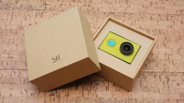 Коробка от Xiaomi Yi
