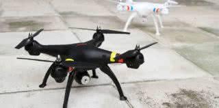 Обзор квадрокоптера Syma x8w