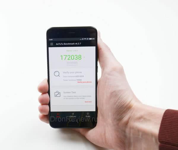 Тест на производительность Xiaomi Mi6