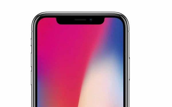 Верхняя рамка Iphone X