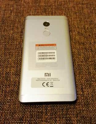 Redmi Note 4X внешний вид