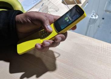 Знакомимся со смартфоном Nokia 8110 4G