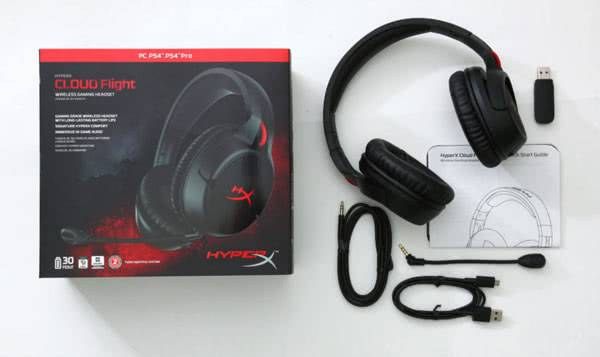 HyperX Cloud Flight комплектация