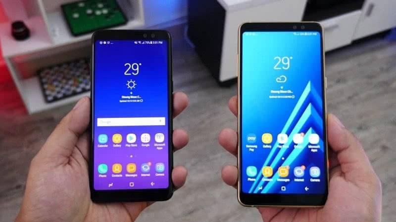 Samsung Galaxy A6 и A6+ фото