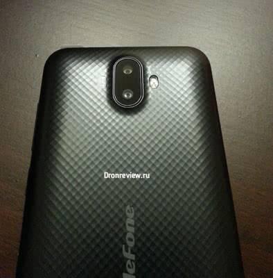 Камера на Ulefone S7