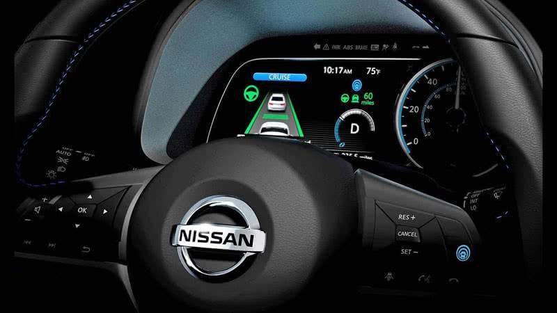 Опция ProPilot на Nissan Leaf 2018