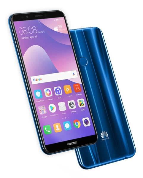 Huawei Y7 Prime 2018 дизайн