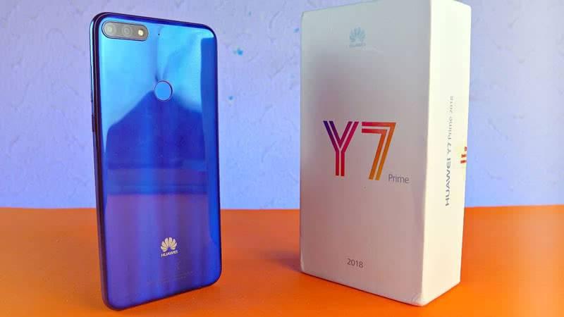 Huawei Y7 Prime 2018 в коробке