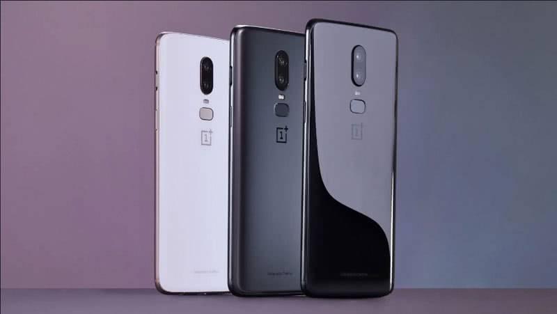 OnePlus6 цвета