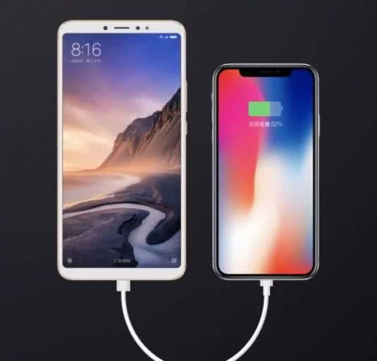 Xiaomi Mi Mix 3 как powerbank