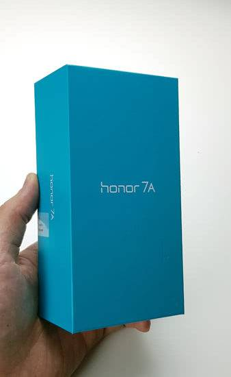 Honor 7A коробка