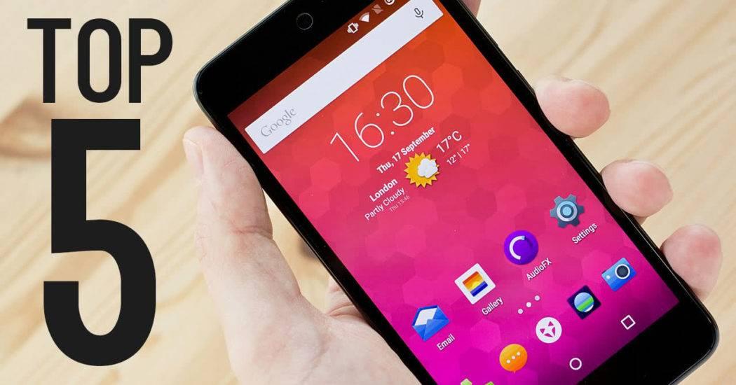 5 лучших китайских смартфонов до 6000 рублей