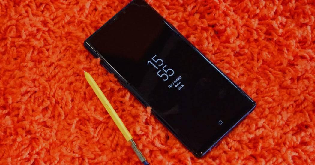 Samsung Galaxy Note 9 — знакомство с фаблетом