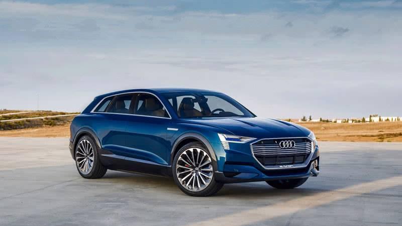 Audi e-tron quattro 2018 фото