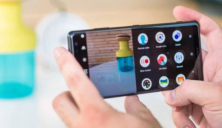 Камера Sony Xperia XZ3