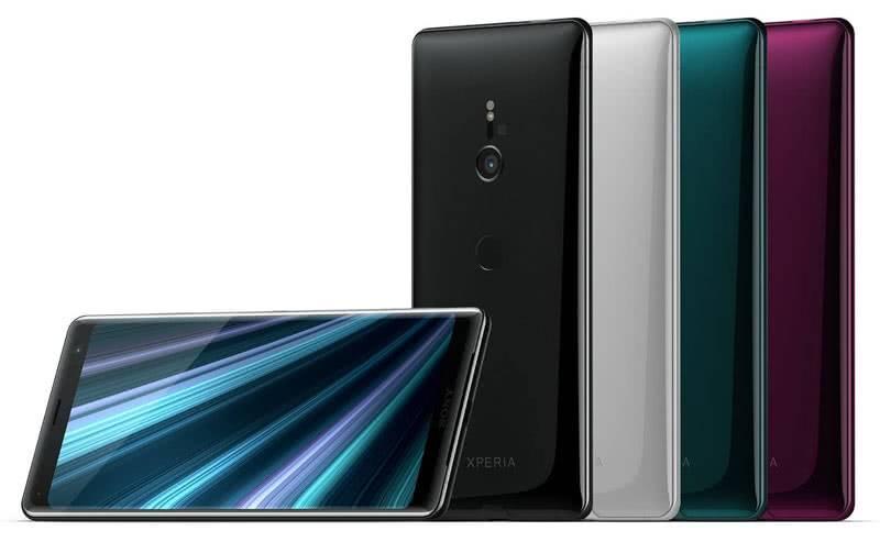Sony Xperia XZ3 цвета