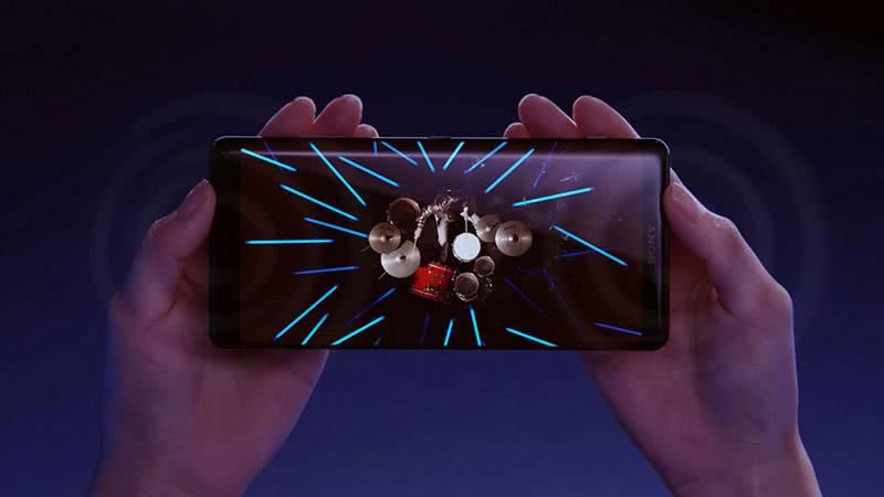Sony Xperia XZ3 звук