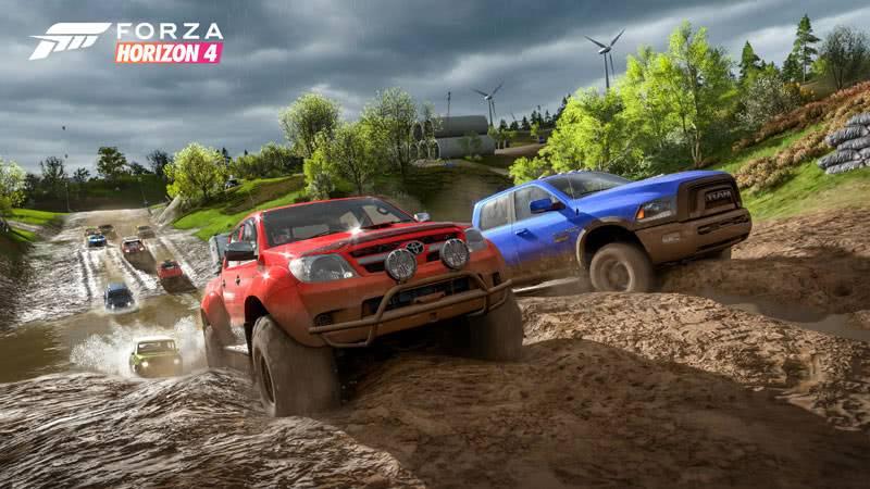 Forza Horizon 4 гонка по бездорожью