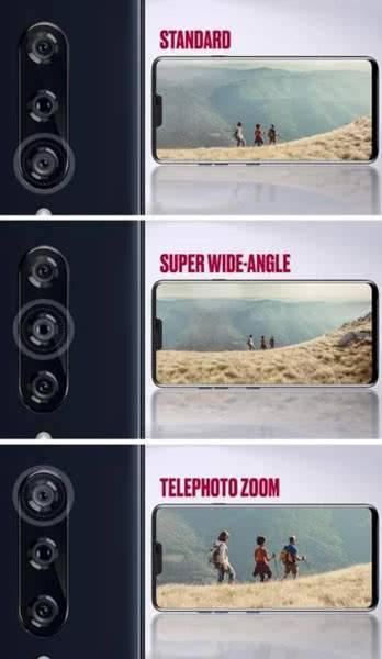 Камеры LG V40 ThinQ