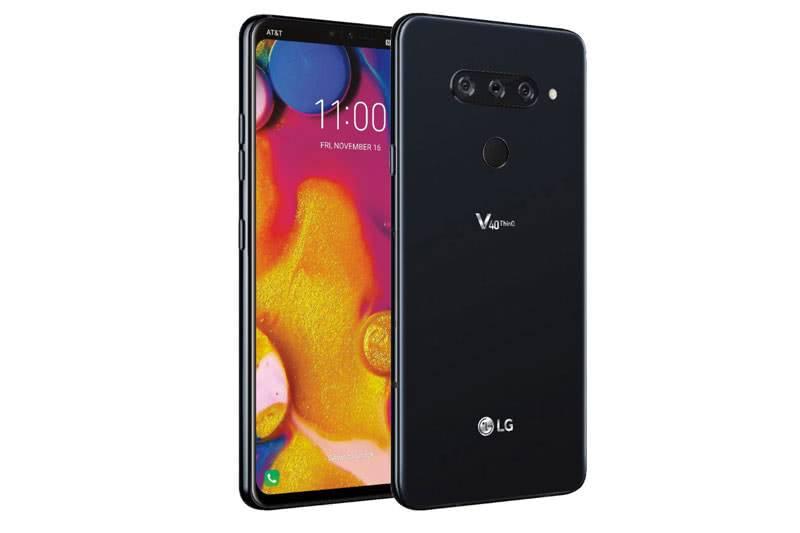 LG V40 ThinQ вид