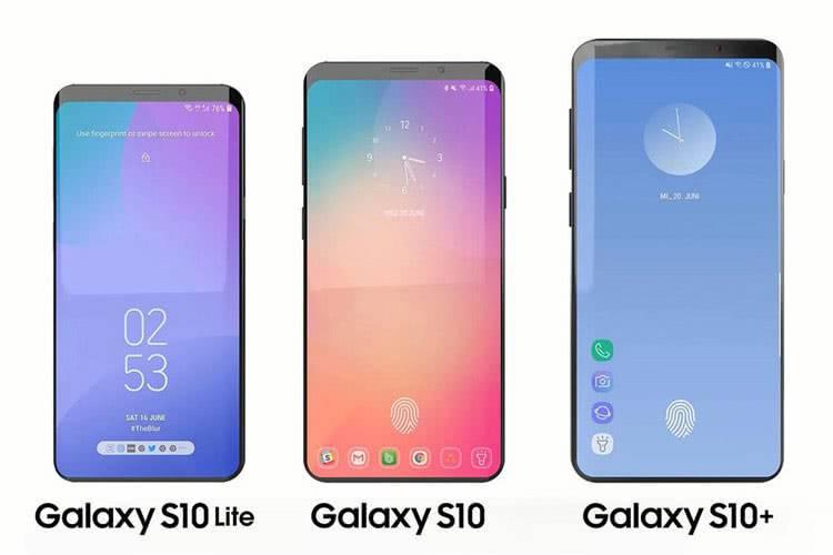 Galaxy S10, S10 Lite и S10 Plus
