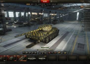 Т-54 облегченный в World of Tanks: небольшой гайд по танку