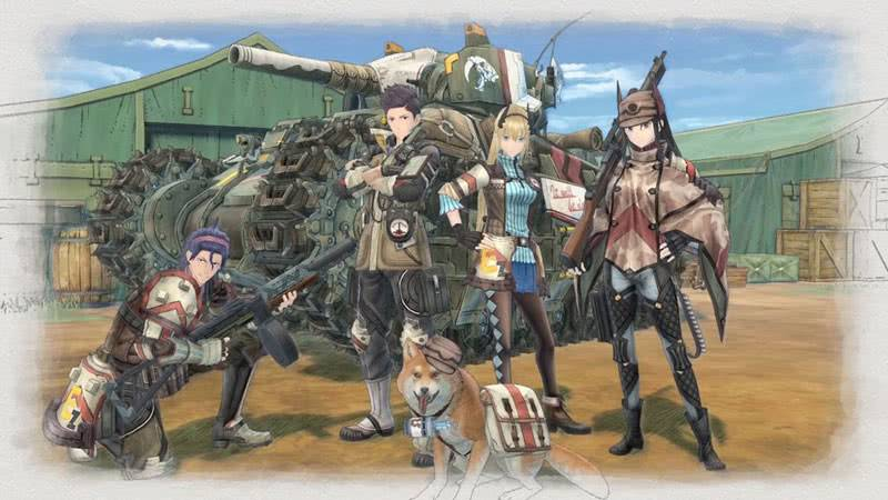 Valkyria Chronicles 4 фото