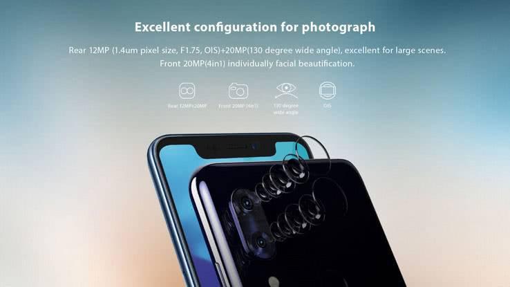 Камера ZTE Axon 9 Pro