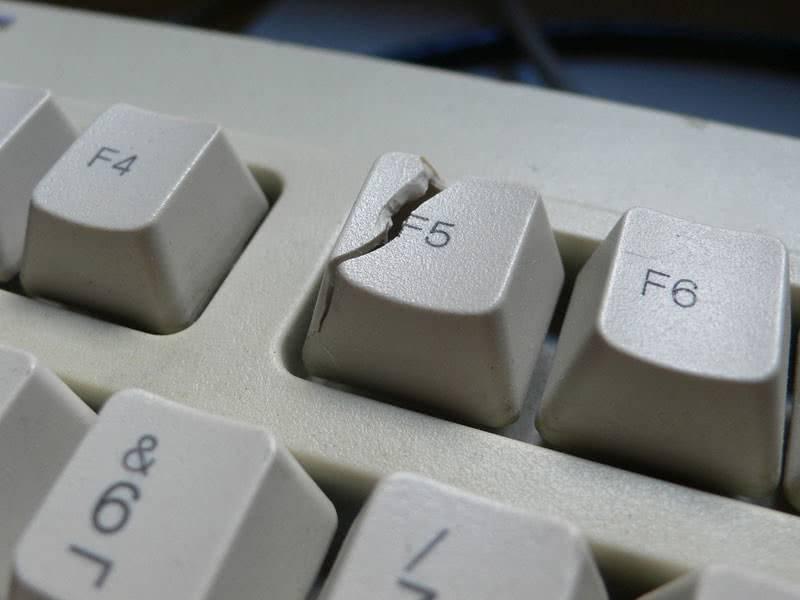 Кнопка f5