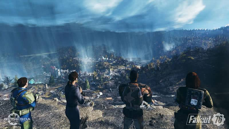 Fallout 76 скриншот