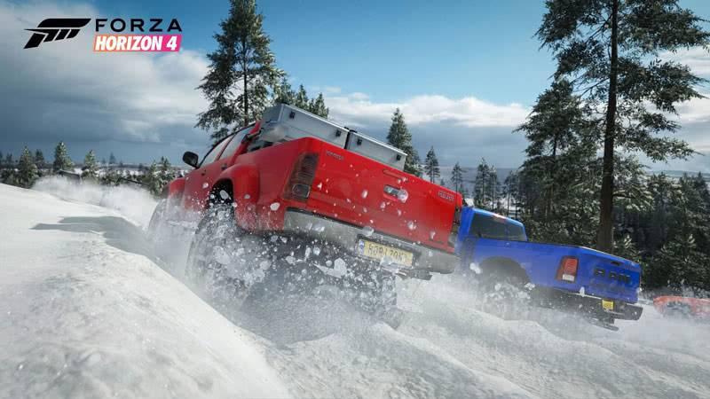 Forza Horizon 4 зимой