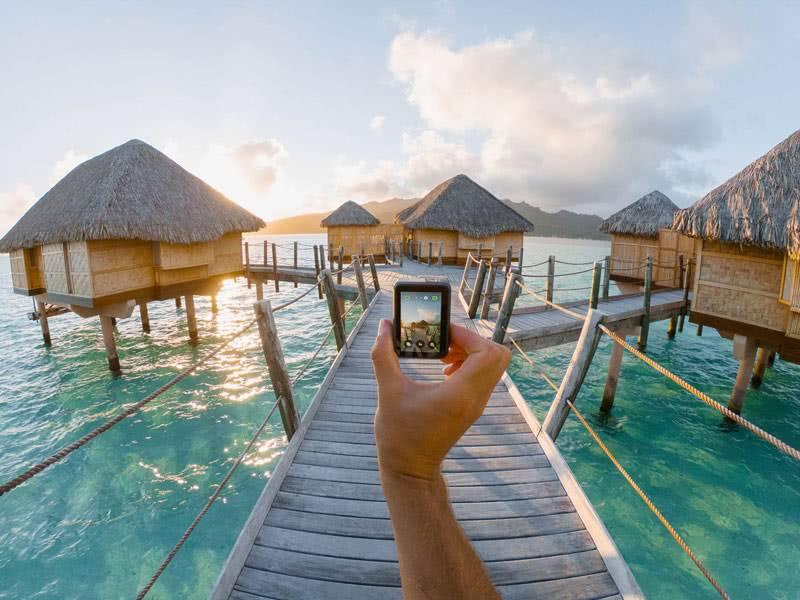 GoPro 7 стабилизация фото