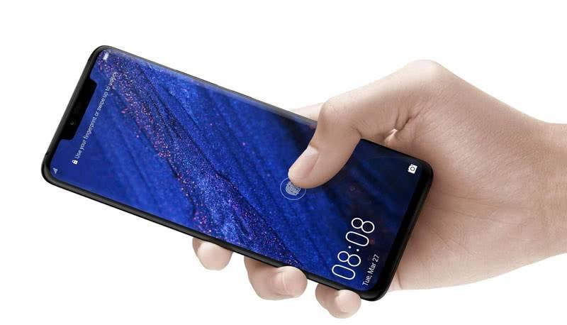 Huawei Mate 20 Pro в руках