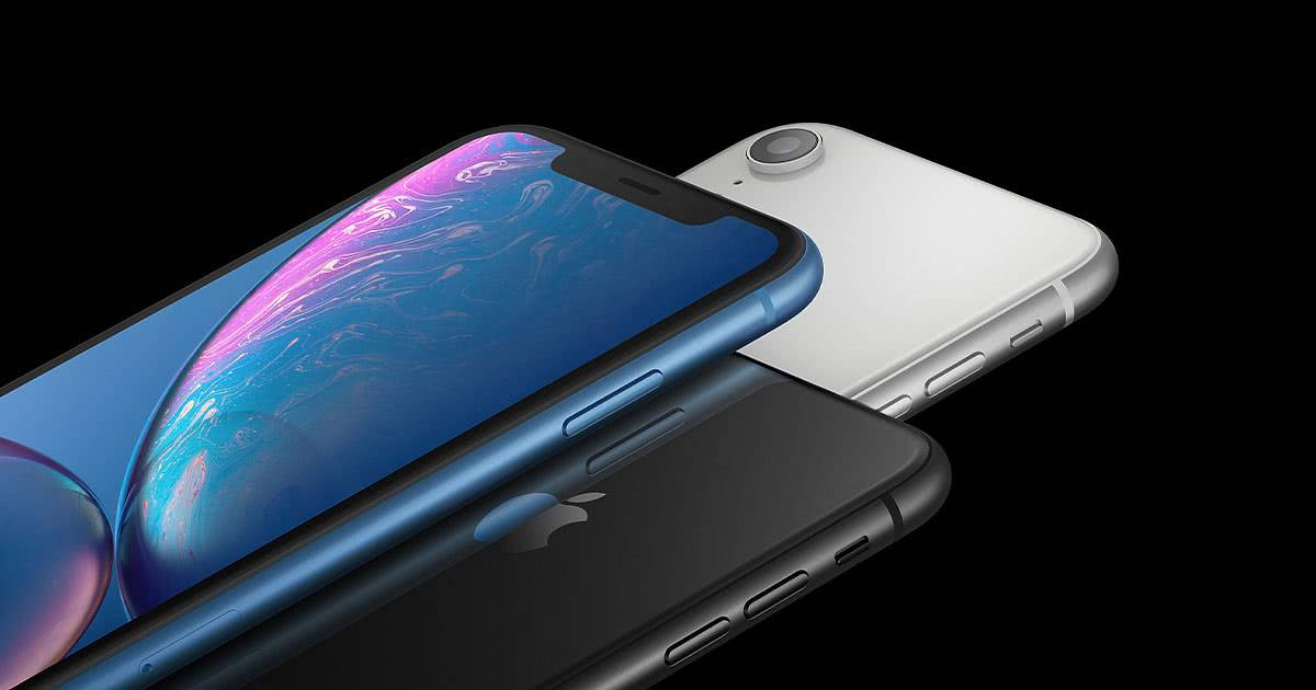 Apple iPhone XR дизайн