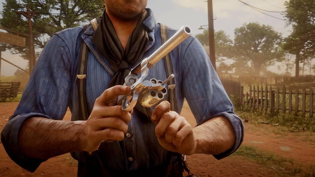 Оружие в игре RDR2