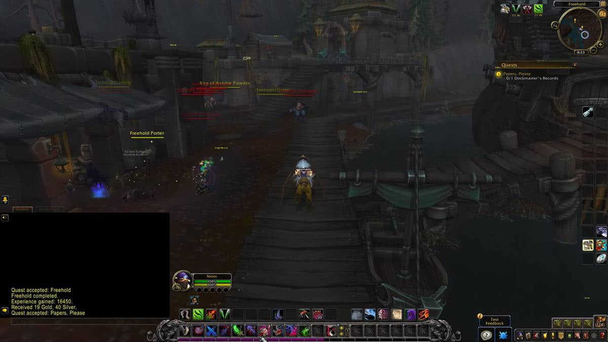 Игровой процесс аддона World of Warcraft: Battle for Azeroth