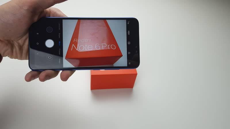 Xiaomi Redmi Note 6 Pro камера