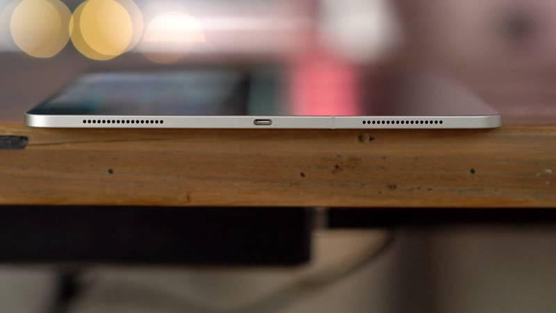 USB Type-C на Apple iPad Pro 12.9 (2018 года)