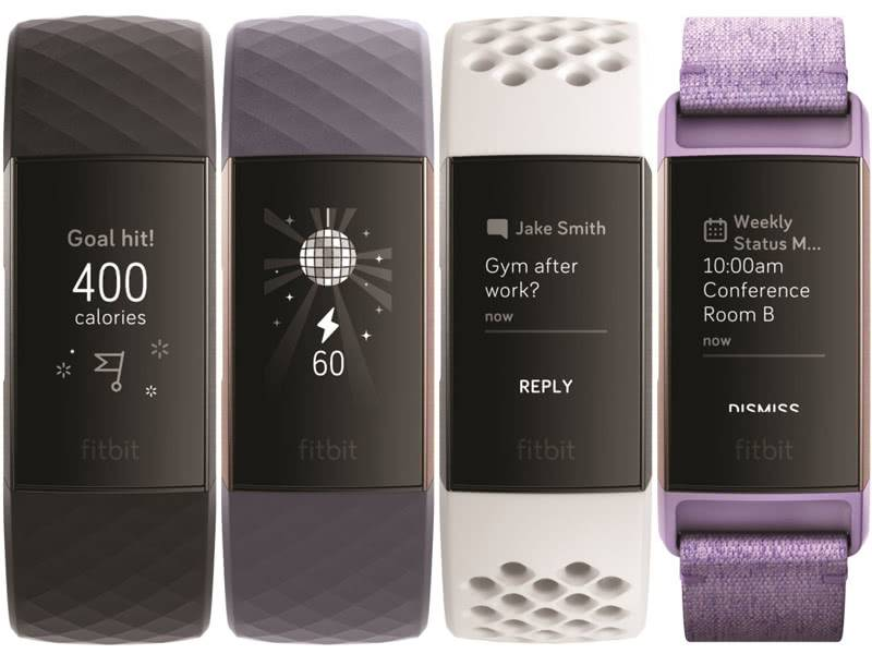 Экран FitBit Charge 3